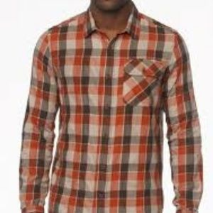 Prana 'Huntley Flannel Long Sleeve Shirt'
